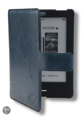 kobo touch hoes - blauwe - gecko - slimfit