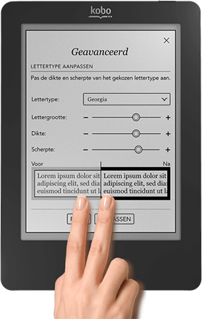 Kobo Touch Touchscreen