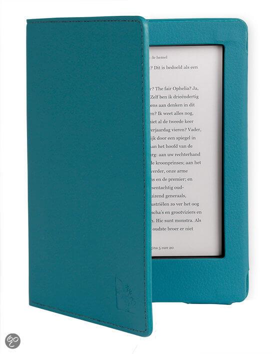 kobo aura h2o cover - gecko luxe - blauw