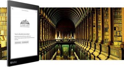 kobo aura one bibliotheek