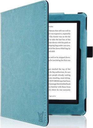 Ereader Book Case - cover blauw