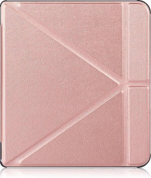 Kobo Forma hoes - Tri-Fold Book Case - Rosé Goud