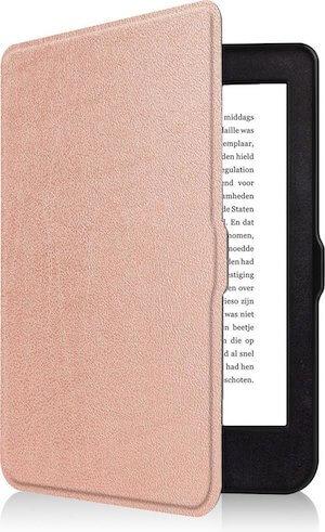 Kobo Nia Hoesje Bescherm Hoes Sleep Cover Luxe Case - Rose Goud